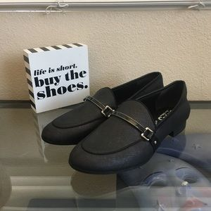 Circus by Sam Edelman  NWOT Black Loafers